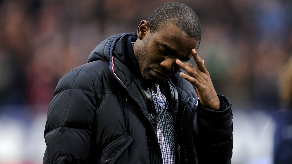 MAY: Bolton Wanderers' Fabrice Muamba made an emotional return to White Harts Lane after collapsing there during an FA Cup match months earlier