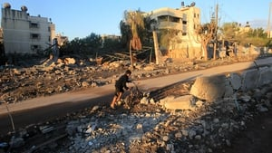 NOVEMBER: A conflict between Gaza militants and Israel in November killed more than 140 Palestinians and five Israelis