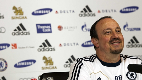 Rafael Benitez insists he has no issue with the Chelsea board
