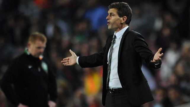 Vilanova had a tumour removed from his throat just over a year ago