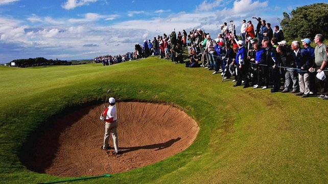 Rory McIlroy, who played a role in Thursday's announcement, in action at the 2012 Irish Open