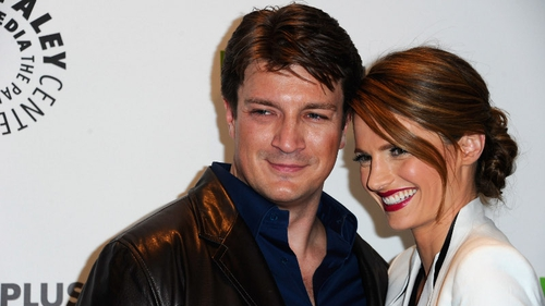 Nathan Fillion - here with his Castle co-star, Stana Katic