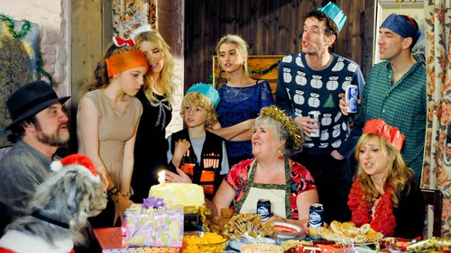 The Dingle's celebrate Christmas and Belle's birthday