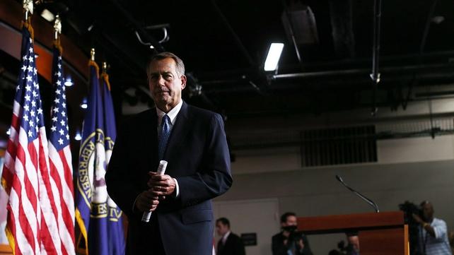 Doubts over future of John Boehner as House of Representatives speaker