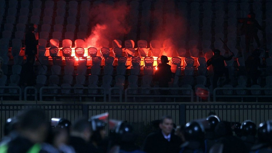 FEBRUARY: More than 70 people died after violence at a football match in Egypt's capital, Cairo