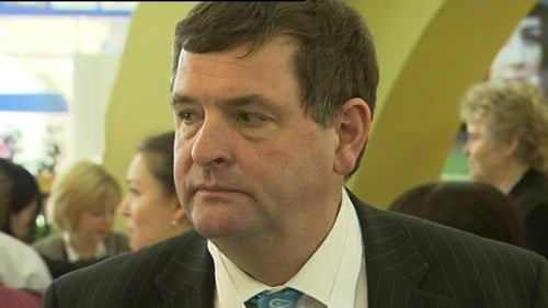 Shane Mc Entee was a farmer for 15 years before he entered politics