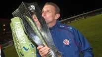 Ian Baraclough tells RTÉ that he is proud of his achievments with Sligo Rovers in 2012