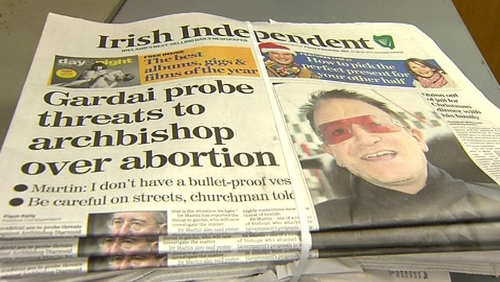 INM, which owns the Irish Independent, has reported a 29.4% increase in pre-tax profit to €37.4m for last year