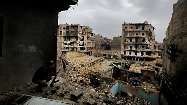 More than 40,000 people have been killed and several cities destroyed in Syria's civil war