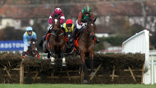 The Midnight Game (left) will take beating in the Horse And Jockey Hotel Hurdle at Thurles on Sunday