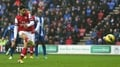 Arteta penalty earns points for Arsenal
