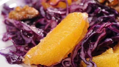 Lina Gautam's Red Cabbage Salad