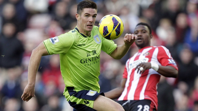 Ireland defender Ciaran Clark has been the Villa stand-in captain while Ron Vlaar recovers from injury