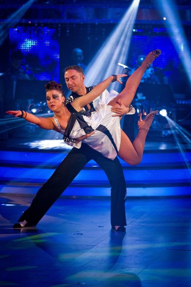 Dani Harmer and Vincent Simone