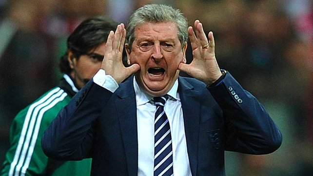 Roy Hodgson has attempted to raise hopes for England in 2014