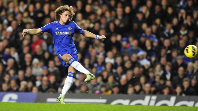 David Luiz starred for Chelsea, and he was on the scoresheet courtesy of a brilliant free-kick