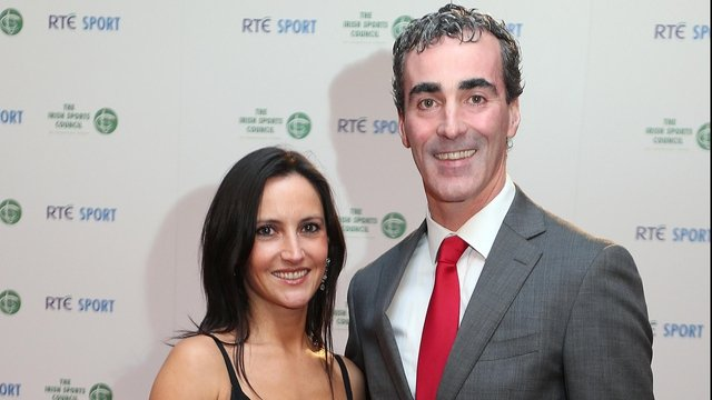 Jim McGuinness and wife Yvonne
