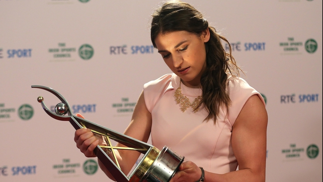 Katie Taylor is the 2012 RTÉ Sports Person of the Year