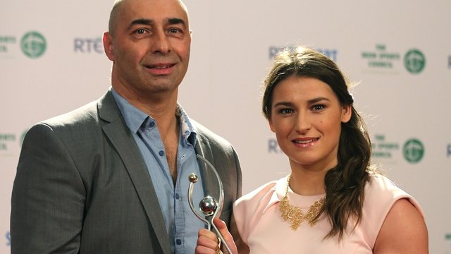Katie Taylor and her father Pete