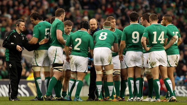 The Ireland senior players played 12 matches in 2012, winning just four ties and recording seven defeats and one draw