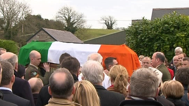 Shane Mc Entee is survived by his wife, four children and his mother