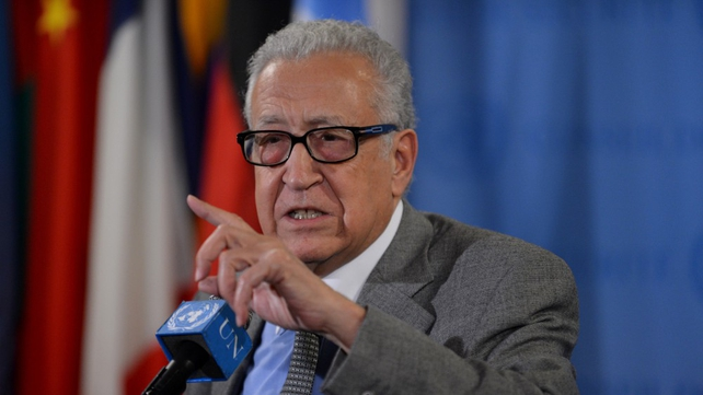 Lakhdar Brahimi urged the UN Security Council to act to end the conflict