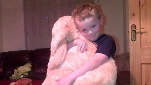 Michael from Co Sligo was delighted with his huge teddy