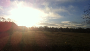 Aidan Glacken was up to see the sunrise in Newtownforbes, Co Longford