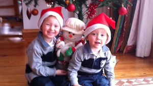 Cormac and Conor McCarthy from Co Donegal hope everyone is having a fabulous day