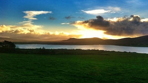 Niamh O'Reilly sent us this gorgeous image of the sunrise over Valentia Island, Co Kerry