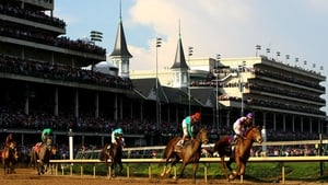 I'll Have Another wins the 138th Kentucky Derby at Churchill Downs in May