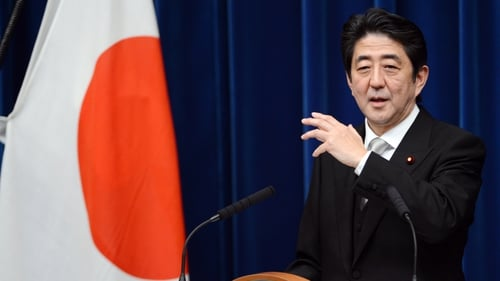 Japanese PM Shinzo Abe has warned situation could become dangerous