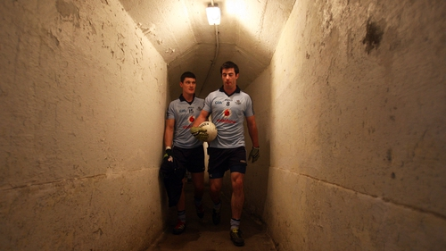 Diarmuid Connolly and Michael Dara MacAuley prepare to face Carlow in the first round of the O'Byrne Cup in January
