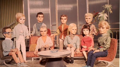 Thunderbirds was shown on RTÉ Two