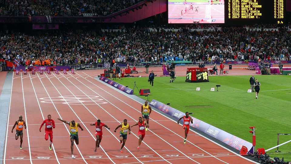 Usain Bolt retained his Olympic 100m sprint title
