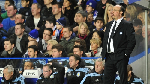 Rafael Benitez has been a target for Chelsea fans since taking charge of the club