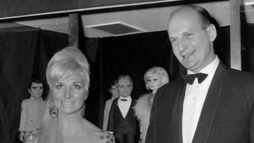 Thunderbirds' creator Gerry Anderson with his former wife and business partner Sylvia