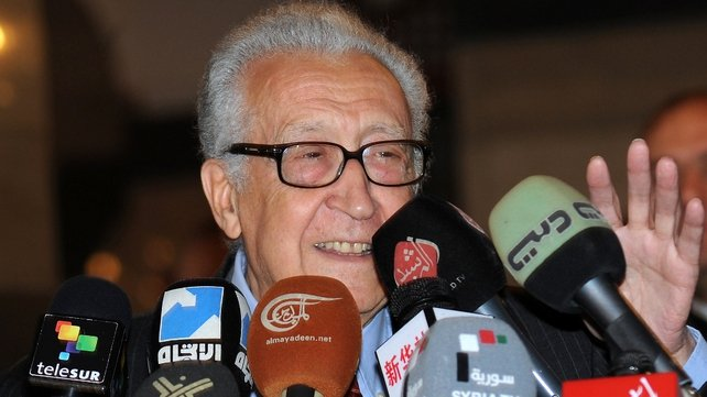 UN envoy to Syria Lakhdar Brahimi says 'a solution is still possible but is getting more complicated every day'