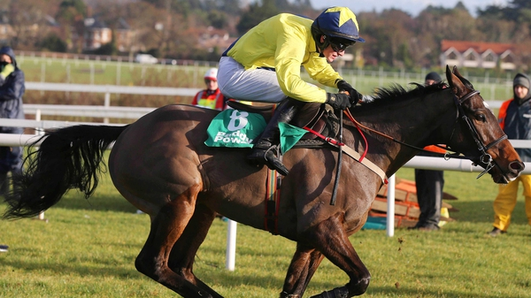 Sizing Europe won the Paddy Power Dial-A-Bet Chase by two and a half lengths