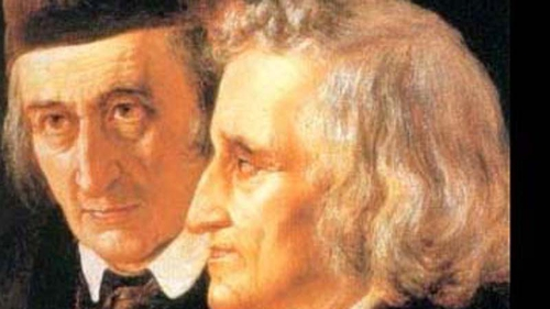 The Grimm Brothers - Jacob Grimm hailed his fellow collector, von Schönwerth, whose 500 tales were recently discovered in Germany
