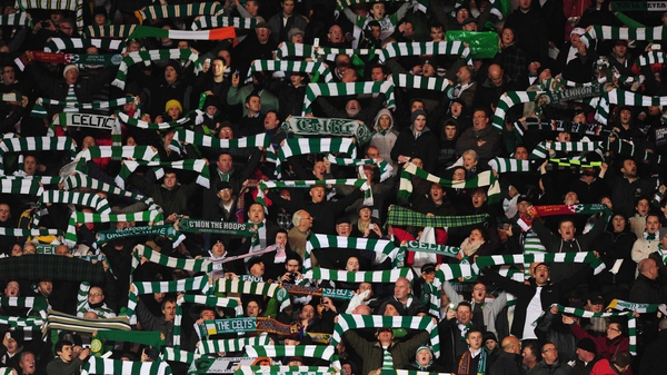 Celtic fans will be as disappointed their club