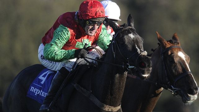 Tony McCoy partnered Taquin Du Seuil to victory at Sandown earlier this month