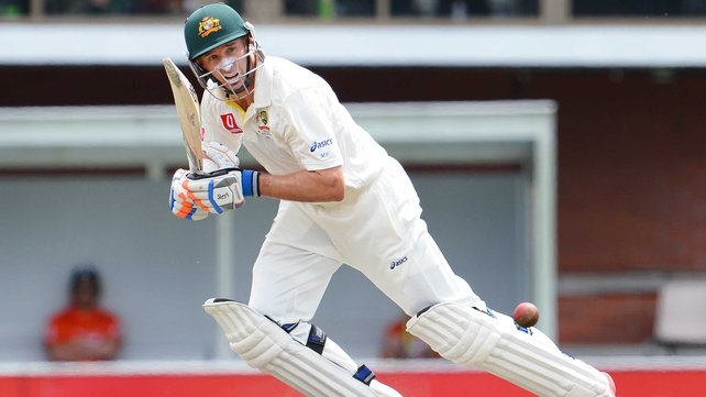 Mike Hussey had to wait until he was 30 for his Test debut