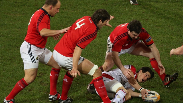 Munster beat the table-toppers, Ulster