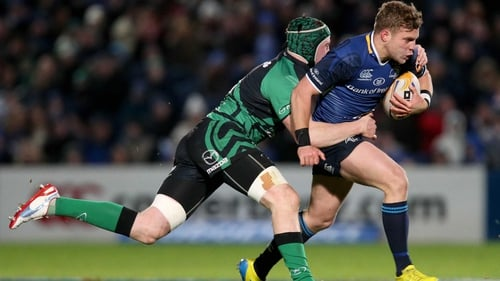 Leinster's Ian Madigan grabbed the opening try of the game at the RDS