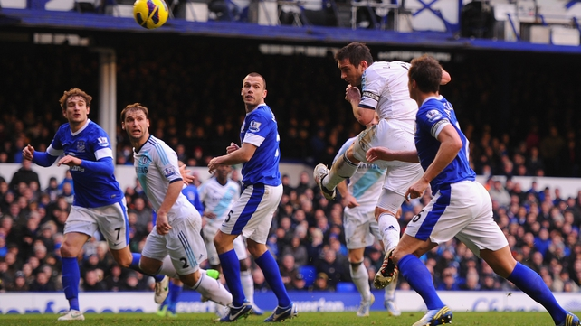 Lampard was the man in form for the Blues at Goodison
