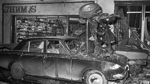 Two teenagers were killed in the attack in December 1972