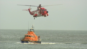 Crewman airlifted off Norwegian fishing vessel