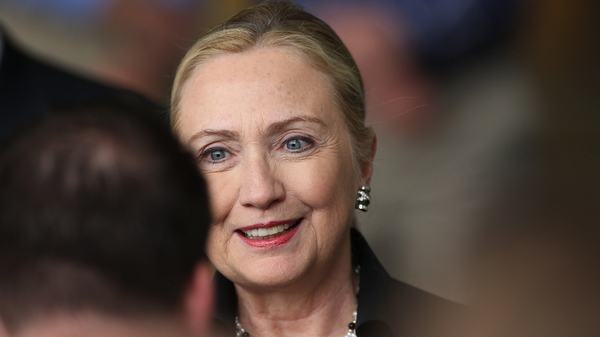 Hillary Clinton is due to stand down as Secretary of State shortly