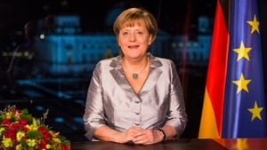 Angela Merkel says reform measures designed to address the roots of the problem are beginning to bear fruit